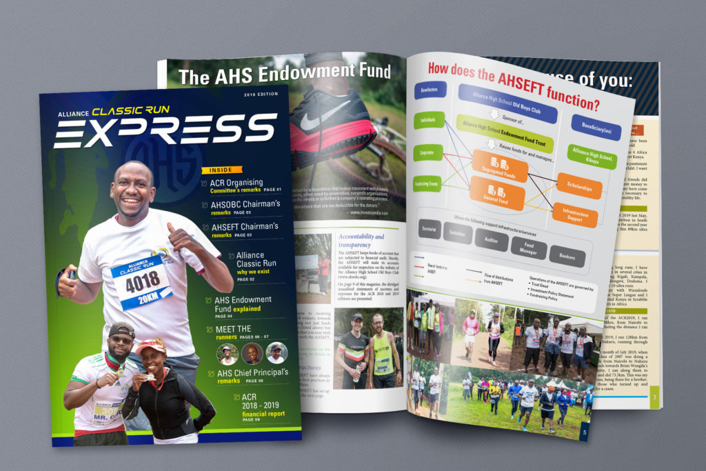 A photo of the ACR 2019 magazine